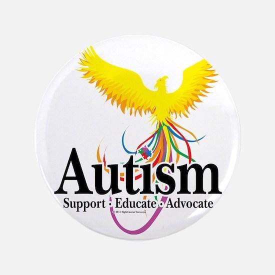 """Autism-Phoenix 3.5"""" Button"""