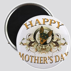 Happy Mothers Day Min Pin Magnet