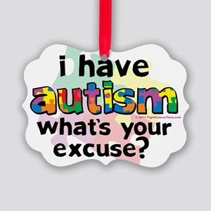 I-Have-Autism Picture Ornament