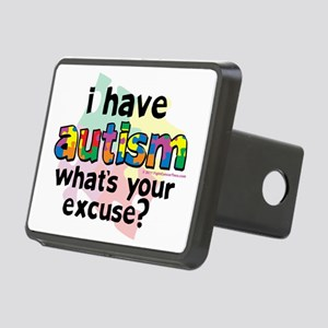 I-Have-Autism Rectangular Hitch Cover