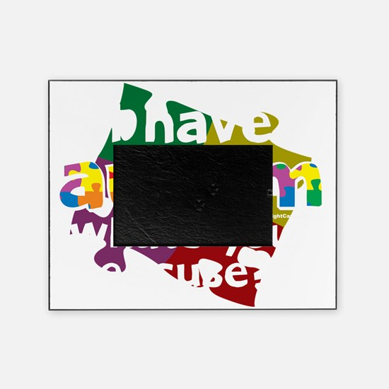 I-Have-Autism-blk Picture Frame