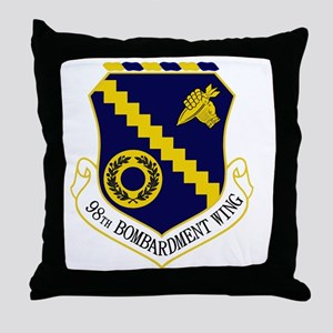 98th Bomb Wing Throw Pillow
