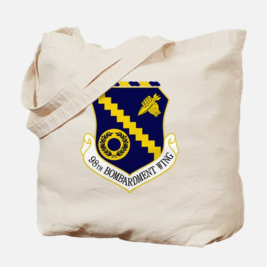 98th Bomb Wing Tote Bag
