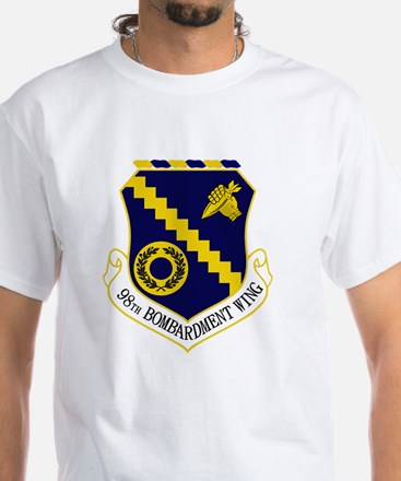 98th Bomb Wing White T-Shirt