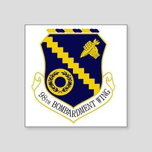 """98th Bomb Wing Square Sticker 3"""" x 3"""""""