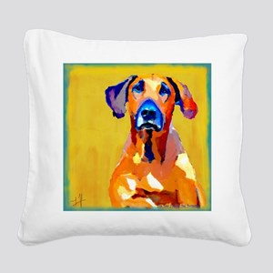 Gang of one w banner cafepres Square Canvas Pillow