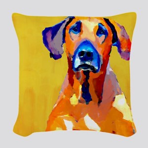 Gang of one w banner cafepress Woven Throw Pillow