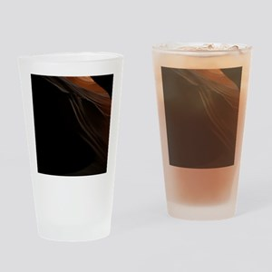 Dark and Light in Antelope Canyon Drinking Glass
