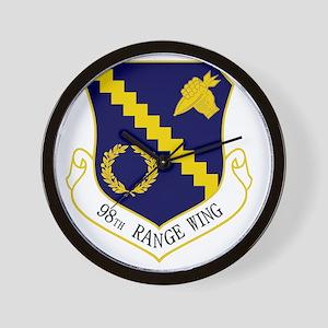 98th Range Wing Wall Clock
