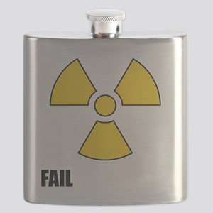 Nuclear symbol FAIL-black Flask