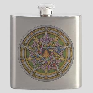 Beltane Pentacle Flask