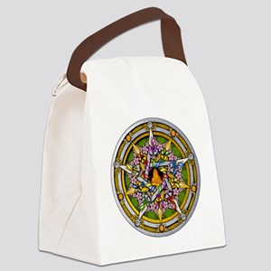 Beltane Pentacle Canvas Lunch Bag