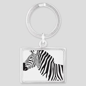 Zebra Landscape Keychain
