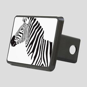 Zebra Rectangular Hitch Cover