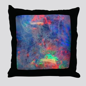 opal diamond stadium blanket Throw Pillow