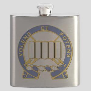 DUI - 2nd Battalion - 7th Infantry Regiment Flask