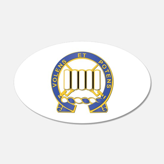DUI - 2nd Battalion - 7th Infantry Regiment Wall Sticker
