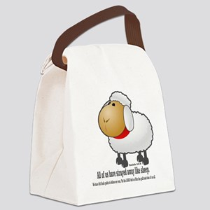 Isaiah_53_wht Canvas Lunch Bag
