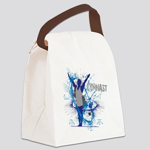 Male_Gymnast Canvas Lunch Bag