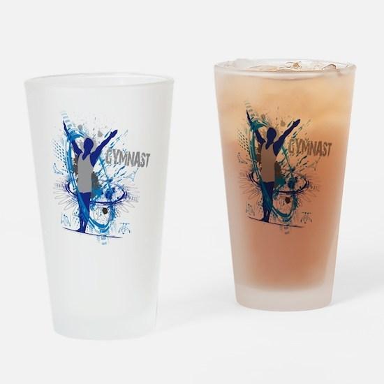 Male_Gymnast Drinking Glass