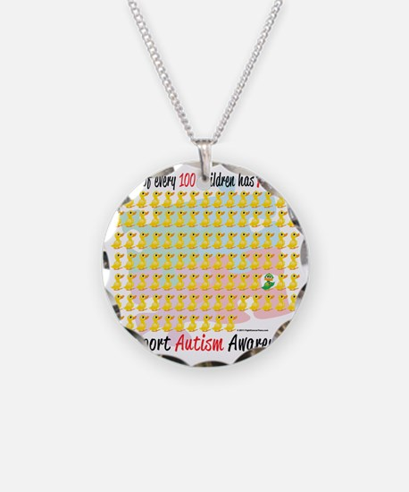 Autism-1-out-of-100 Necklace