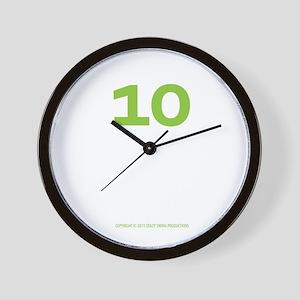 binary_blackshirt Wall Clock