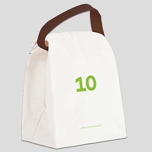 binary_blackshirt Canvas Lunch Bag