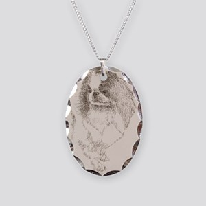 Japanese_Chin_KlineZ Necklace Oval Charm