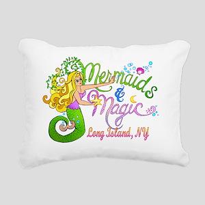 mermaidmagicLItrans Rectangular Canvas Pillow