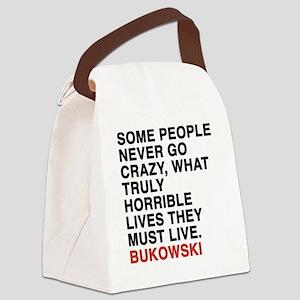 bukowski6 Canvas Lunch Bag