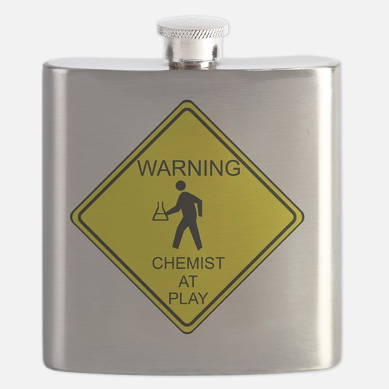 WARNING chemist at play Flask