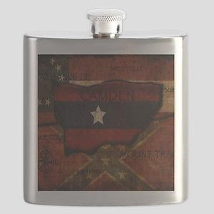 camden-central flag print card Flask