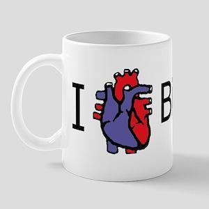 I heart biology Bumper Mug