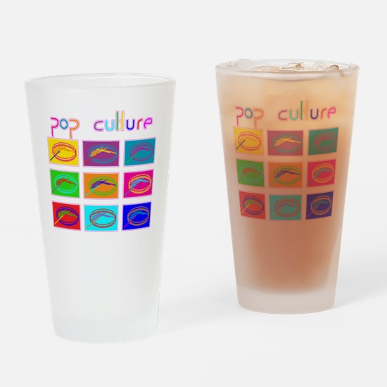 Pop Culture NEW Drinking Glass