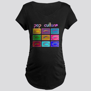 Pop Culture NEW Maternity Dark T-Shirt