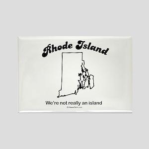 Rhode Island - we're not really an island Rectangl