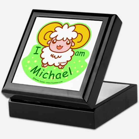 sheep_michael Keepsake Box