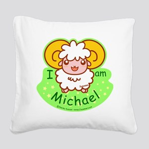 sheep_michael Square Canvas Pillow