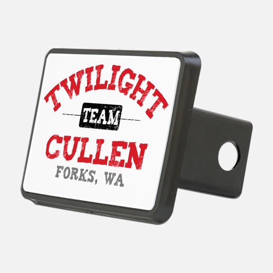 Team Cullen Red Hitch Cover