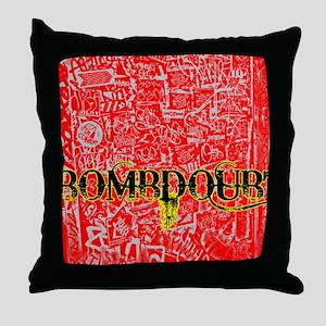 Bombdoubt1 Throw Pillow