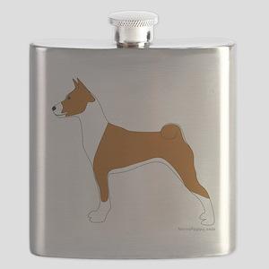 Basenji Flask