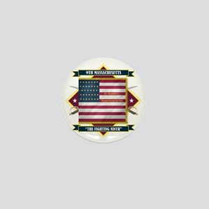 9th Massachusetts (Diamond) Mini Button