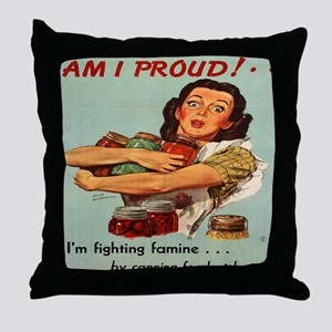 Am I Proud 10x10 Throw Pillow