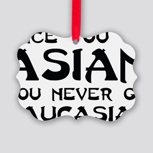 asian Picture Ornament