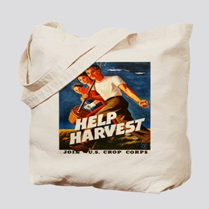 Help Harvest 10x10 Tote Bag