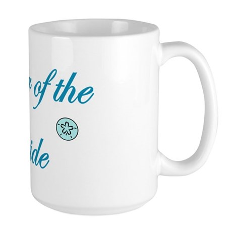 Beach Mother of the Bride Large Mug