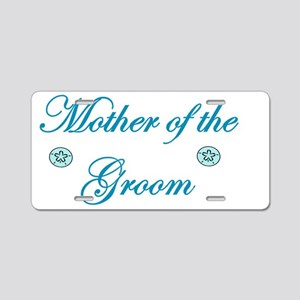 Beach Mother of the Groom Aluminum License Plate