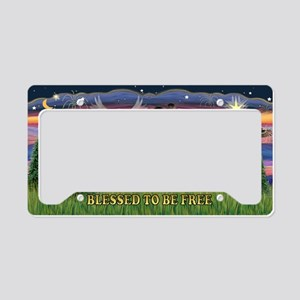 LIC-Blessed-ShetlandSheepdog7 License Plate Holder
