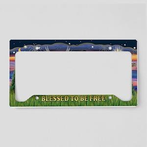 LIC-Blessed-ShetlandSheepdog7 License Plate Holder