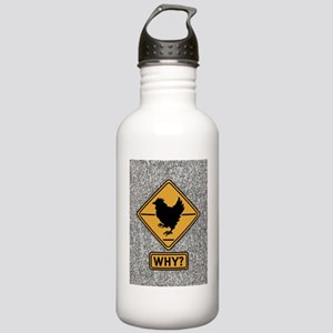 Chicken Crossing 005 Stainless Water Bottle 1.0L